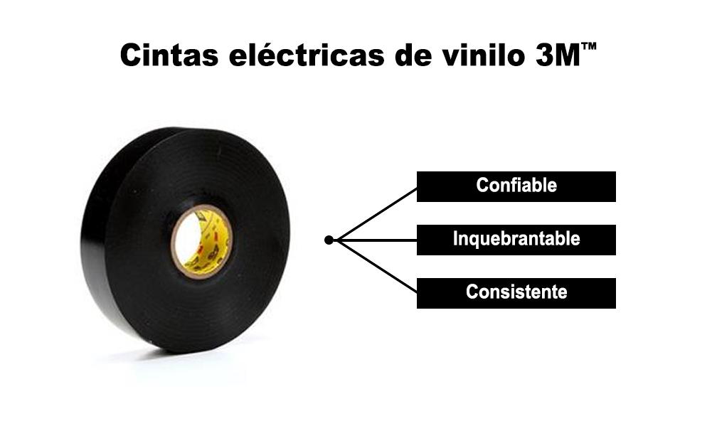 Cintas eléctricas de vinilo 3M™