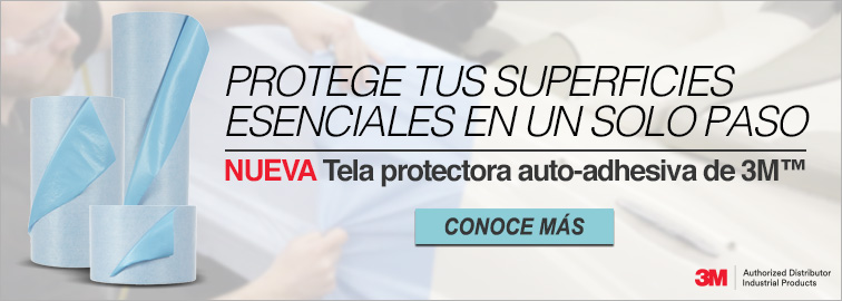 Tela protectora auto-adhesiva para líquidos DP100 de 3M