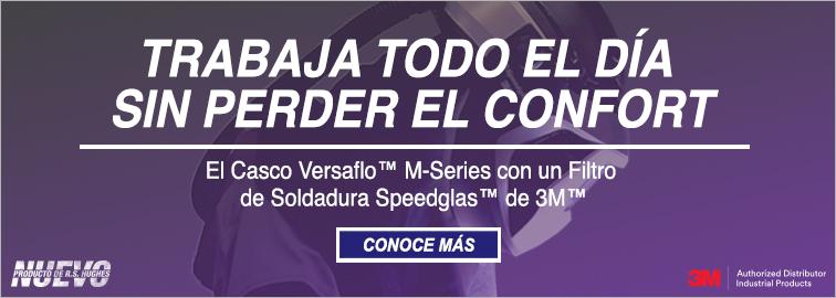 El Casco Versaflo M-Series con Speedglas de 3M