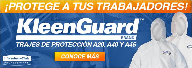 Trajes de Protección A20, A40 Y A45 de Kimberly-Clark