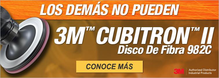 3M™ Cubitron™ II Disco De Fibra 982C